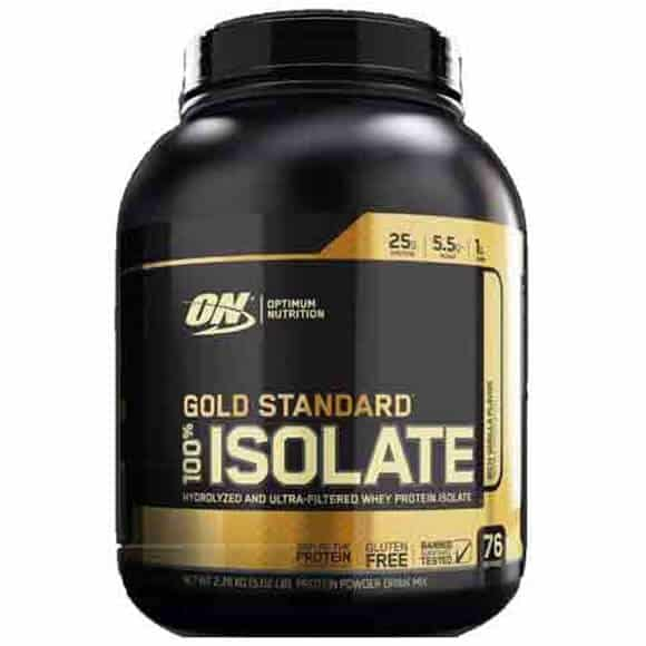 Gold Standard 100% Isolate 5 Lb