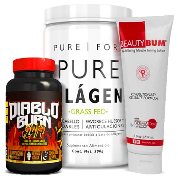 Pack Woman FatLoss Stack 3 Pzs