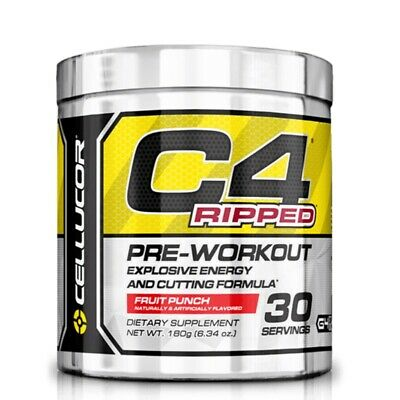 Cellucor C4 Ripped Fruit Punch 180 Gr